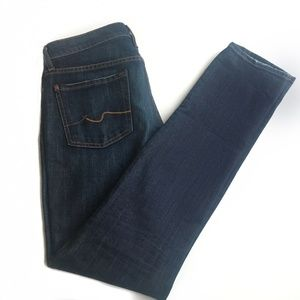 Seven for All Mankind Roxanne Skinny Jeans Size 27